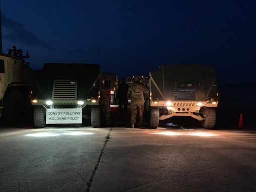 Army Reserve Soldiers trek 582 miles across Europe for Operation Saber Guardian 19