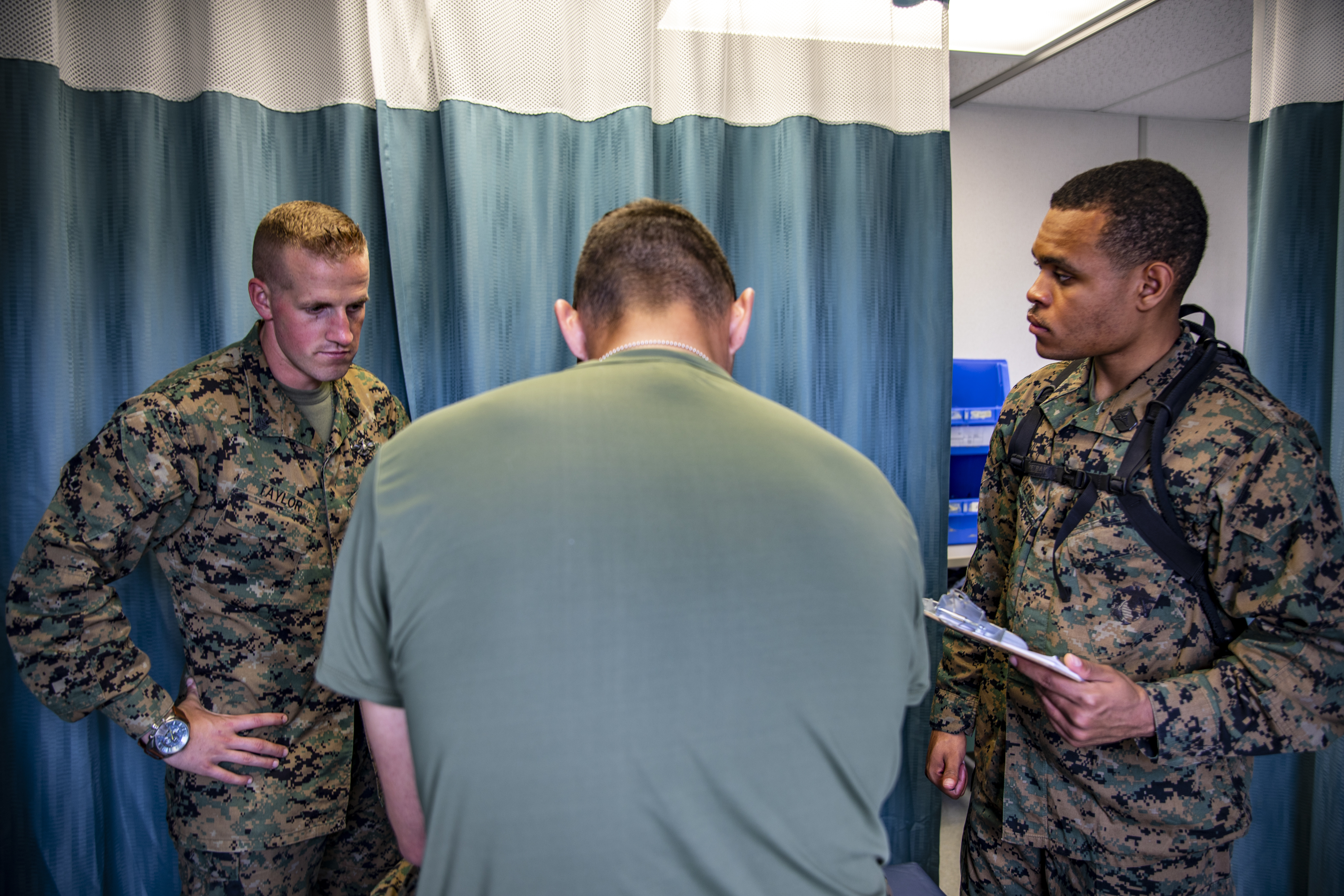 4th MAW Navy Corpsmen provide medical services in CFB Cold Lake, Canada
