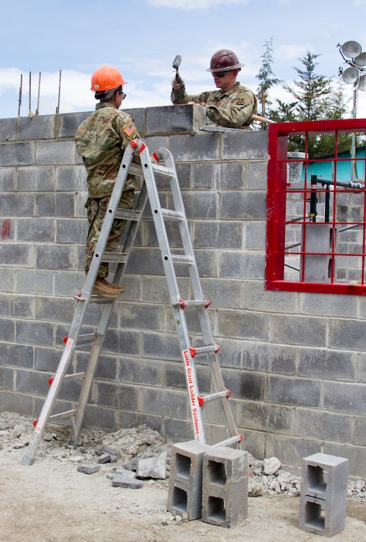 Army Reserve Engineers build schools for Guatemalan communities