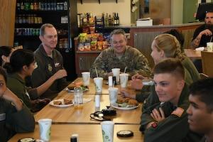 AFA Cadets Tour the 916th ARW