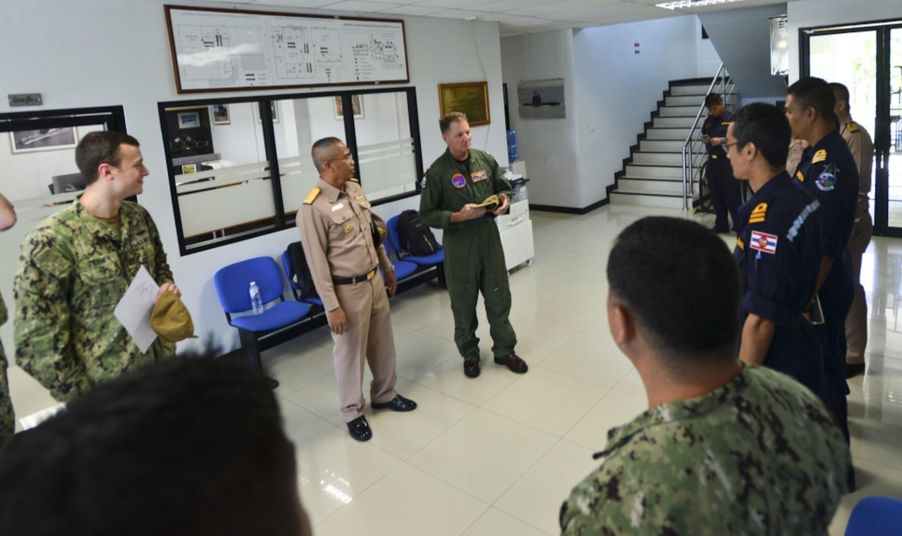 U.S., Royal Thai Navy Conduct Joint Submarine Training During CARAT Thailand 2019