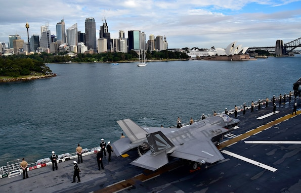 USS Wasp Arrives in Sydney, Australia