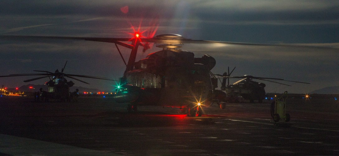 Reserve Marines take flight at ITX 4-19