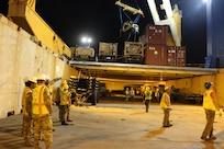 599th Transportation Brigade Partners Upload Ocean Jazz for Pacific Pathways