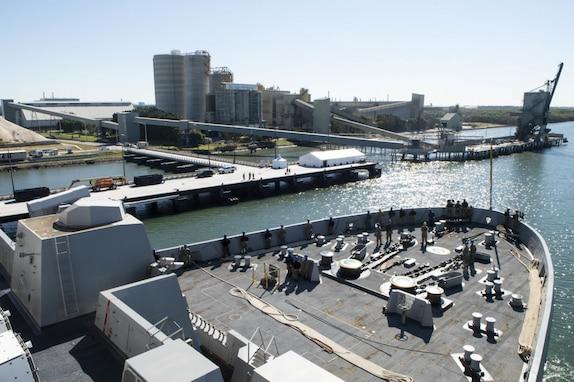USS Green Bay, USS Ashland Visit Brisbane, Australia