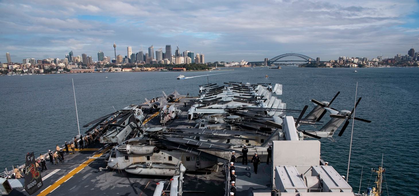Wasp, flagship of the Wasp Amphibious Ready Group, with embarked 31st Marine Expeditionary Unit, is operating in the Indo-Pacific region to enhance interoperability with partners and serve as ready-response force for any type of contingency.