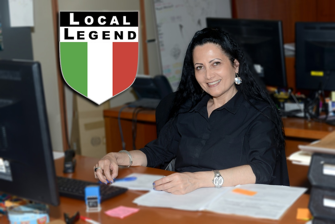 This week's Local Legend is Lea Acampora, who was born in Agerol, Naples just about 30 minutes from the Amalfi Coast. Acampora has worked on base for 20 years.