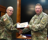 Spc. Mark Wehde of Plainfield, Illinois graduated from the Culinary Specialist Reclassification Course.