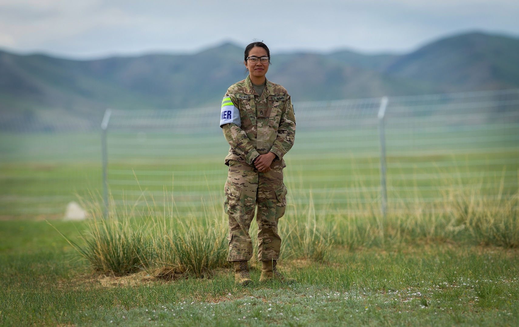 U.S. Army Service Member Participates in International Exercise