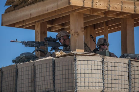 Reserve Marines defend airfield at ITX 4-19