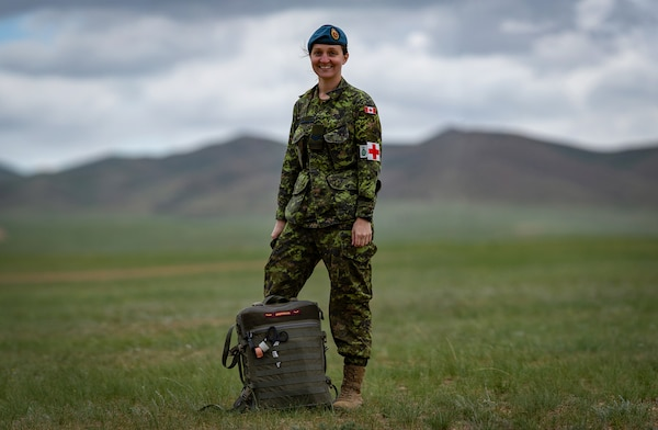 Canadian Army Medic Participates in International Exercise > U S