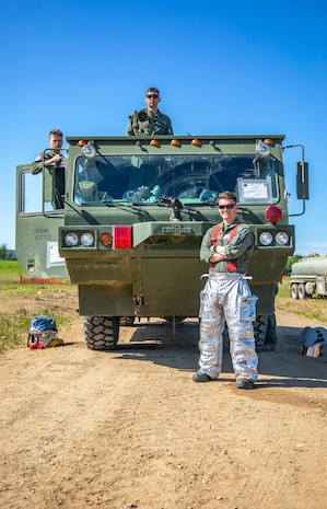 Forward Arming and Refueling Point Operations during Sentinel Edge 2019