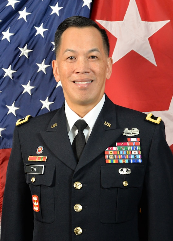 Maj. Gen. Mark Toy will assume command of the Mississippi Valley Division (MVD), U.S. Army Corps of Engineers (USACE) on July 23, 2019.