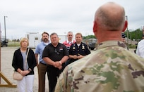 The Indiana National Guard and Indiana Department of Homeland Security concluded Shaken Fury, June 2 – 8, testing the capability and readiness in the event of a large-scale natural disaster at Camp Atterbury, Ind.