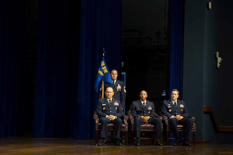 The 45th Mission Support Group change of command ceremony was held June 17, 2019, at Patrick Air Force Base, Fla. (U.S. Air Force photo by Jared Trimarchi)
