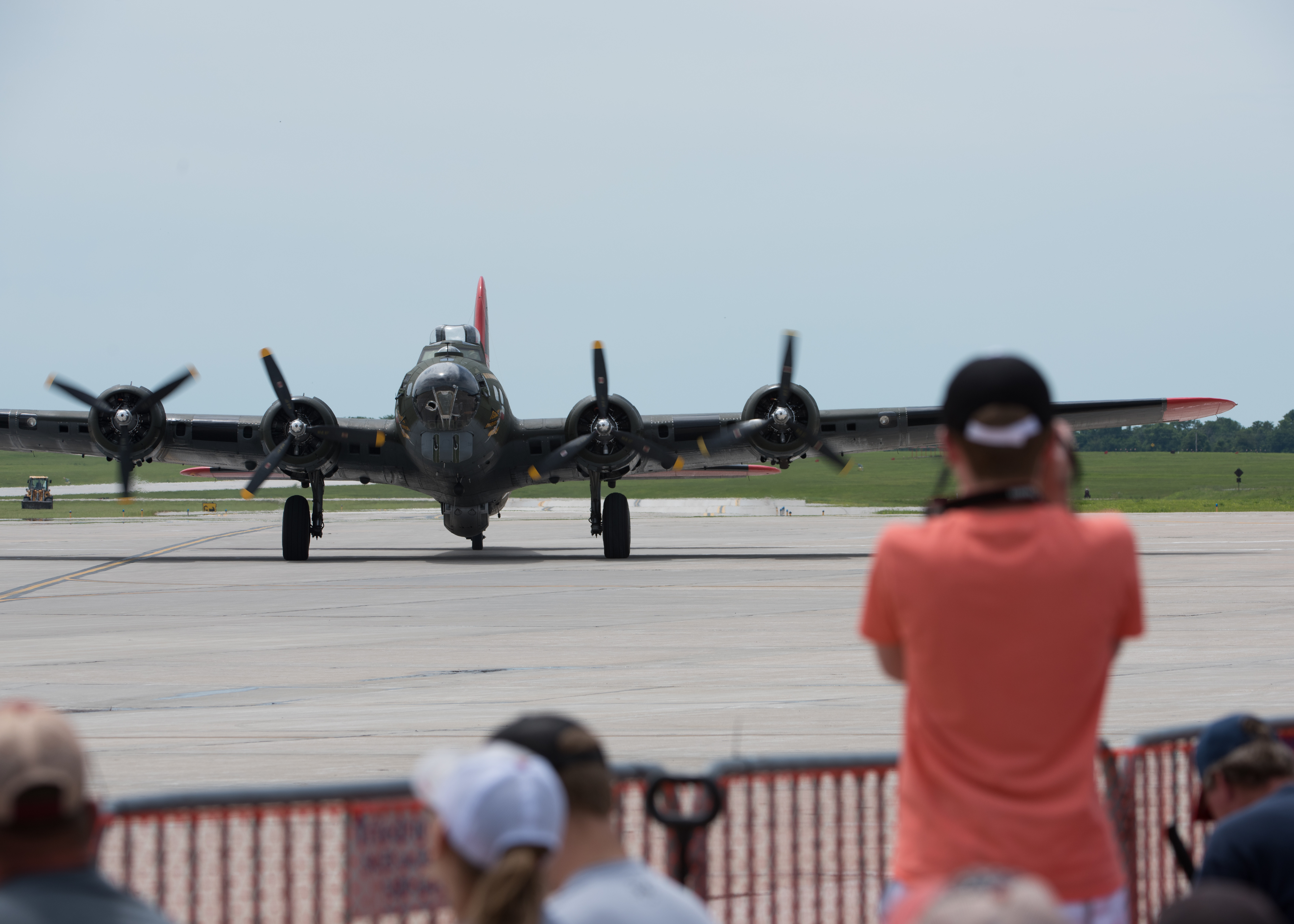 Commemorative AF brings B-17G Flying Fortress to Whiteman AFB