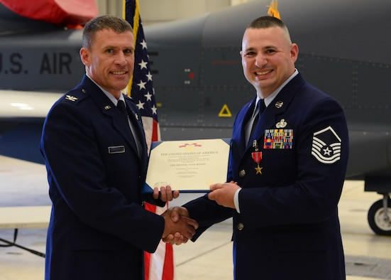 Beale Airmen earns Bronze Star