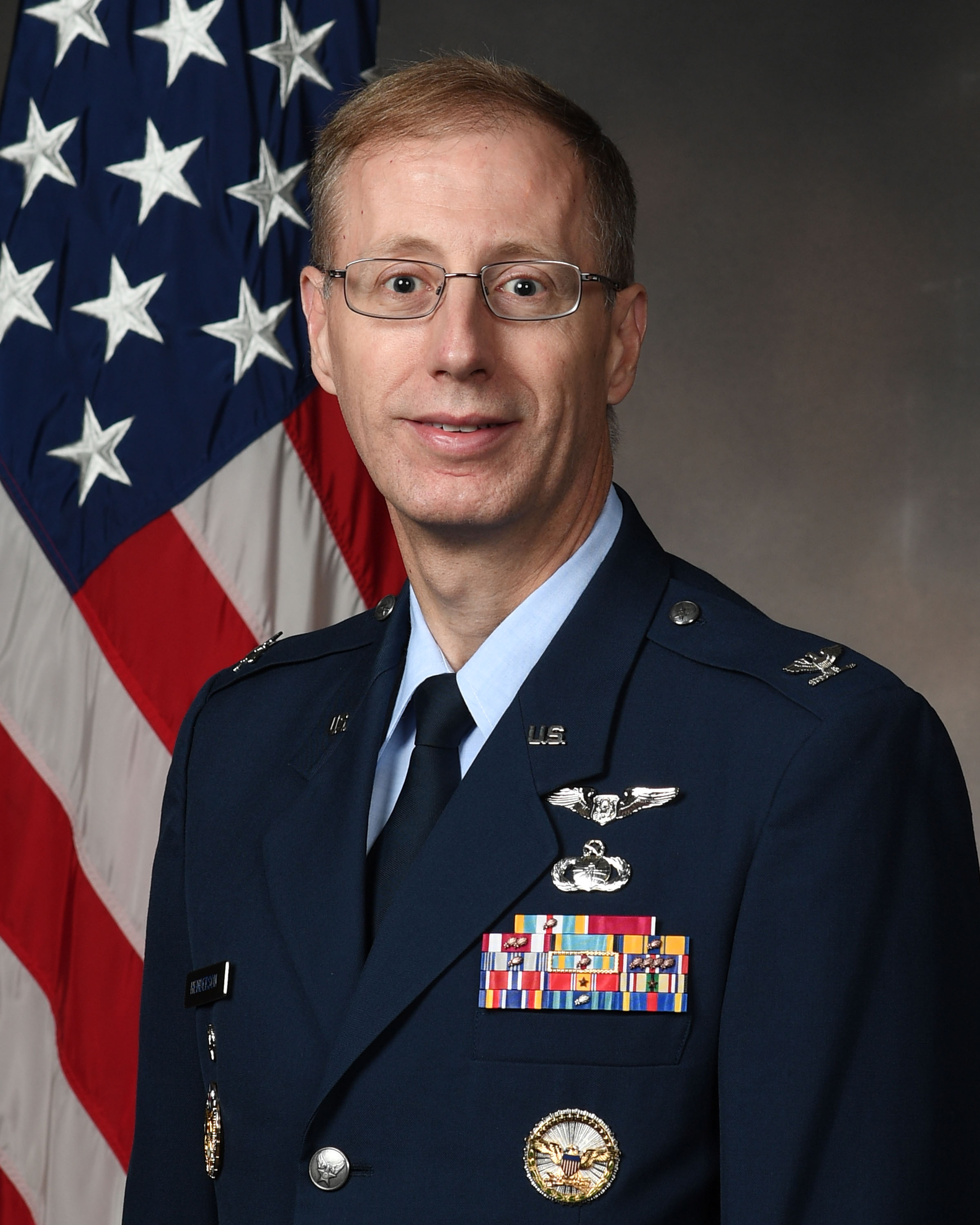 Col. Paul Henderson, Vice Commander