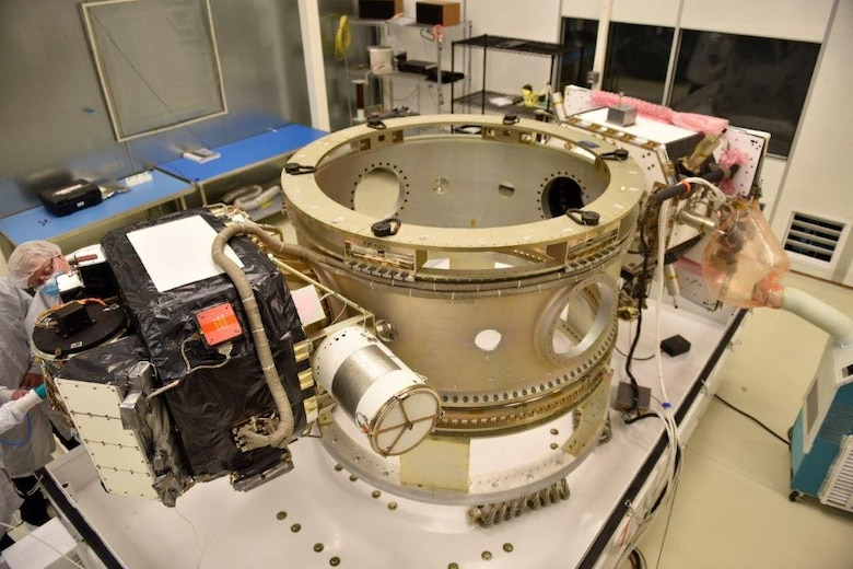 Air Force Research Laboratory prepares DSX spacecraft for