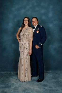 My wife Erin and I – Air Force Ball, Arnold AFB 2018