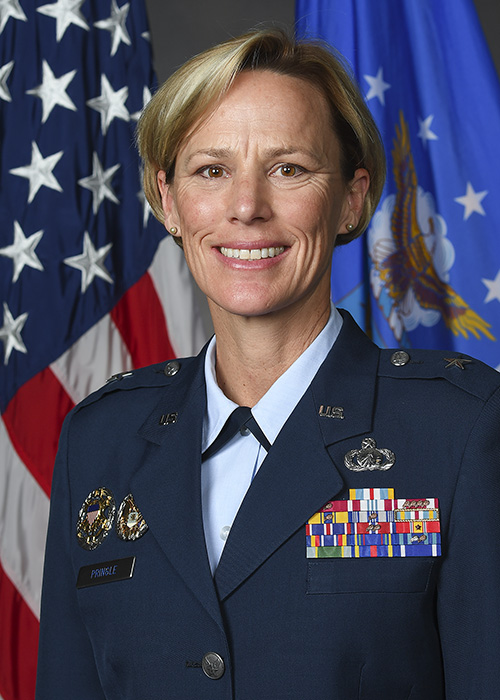Brig. Gen. Heather L. Pringle, Commander