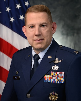 50th Space Wing commander
