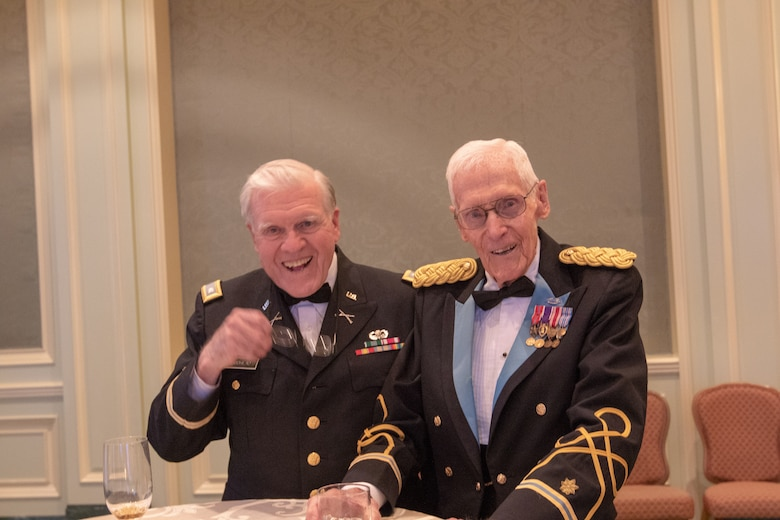 All Branches of Utah's military gathered for an evening at the Grand America Hotel in Salt Lake City to celebrate the 75th Anniversary of D-Day June 8, 2019.