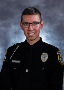 Official photo of DLA Police Officer Watkins