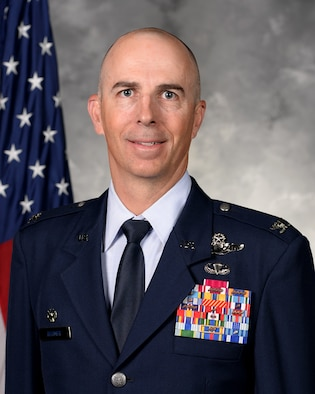 Col. Steven. G Behmer, Commander, 388th Fighter Wing, Hill Air Force Base, Utah.