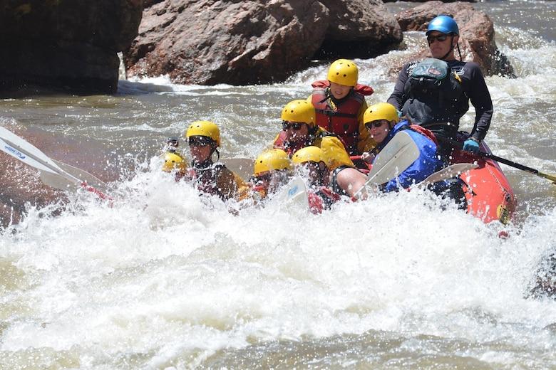 Practice Summer Safety White Water Rafting Schriever Air