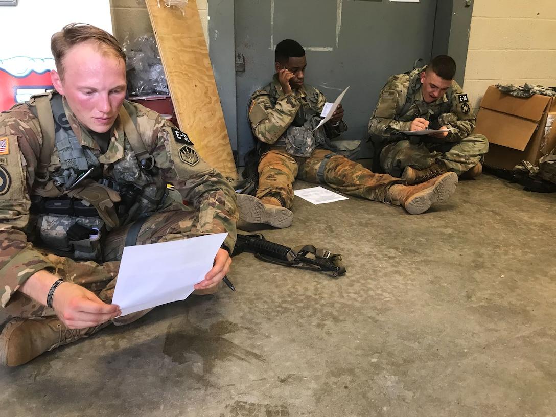 2019 U.S. Army Reserve Best Warrior: Round-Robin event