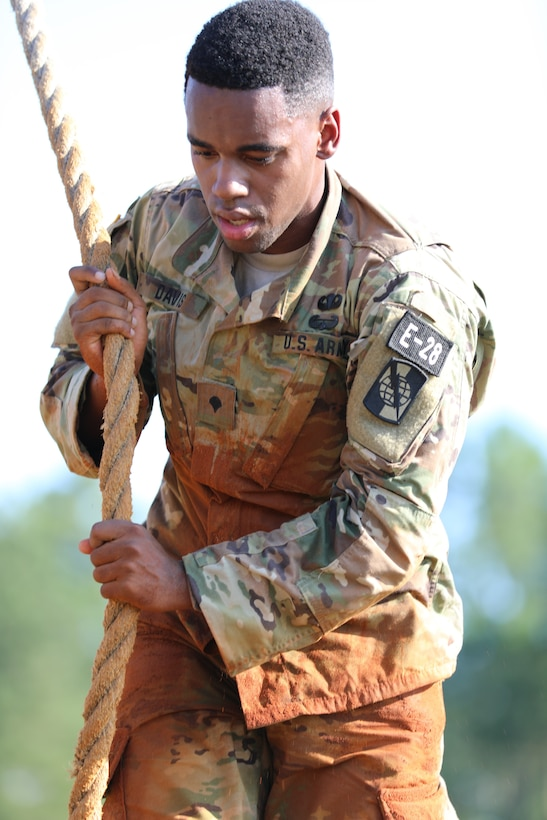 Best Warrior Competition obstacle course