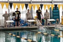 Best Warrior Competition swim event