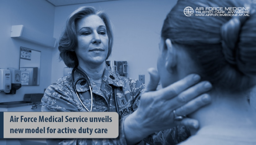 In an effort to return more Airmen to duty quicker, this summer Air Force is rolling out a new medical model to help restore the overall readiness of our military. (U.S. Air Force graphic)