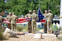June 21 ceremony honoring retired Sgt. Maj. of the Army Leon Van Autreve at the Fort Sam Houston National Cemetery.