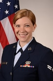 Official Photo of A1C Caitlin Mocchetti, clarinetist with the Air Force Band of Mid-America, Scott Air Force Base, IL