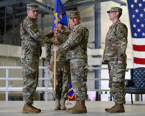 69th Reconnaissance Group change of command ceremony