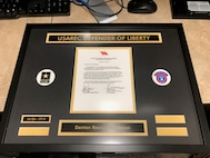 USAREC 3rd QTR Defender of Liberty award