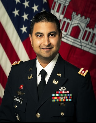 Lt. Col. Sonny B. Avichal assumed command of the U.S. Army Corps of Engineers Nashville District  June 28, 2017.  As commander and district engineer, Avichal manages the water resources development and navigable waterways operations for the Cumberland and Tennessee River basins covering 59,000 square miles, with 42 field offices touching seven states and a work force of over 750 employees. (Official Photo)