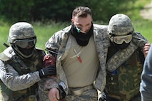 The exercise was the culmination of the Tactical Combat Casualty Care course, a training program which taught critical battlefield skills and how to treat combat-related casualties.