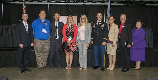 The Huntington District and the Huntington Post of the Society of American Military Engineers (SAME) held the 6th Annual Huntington Small Business Conference at the Big Sandy Superstore Convention Center.