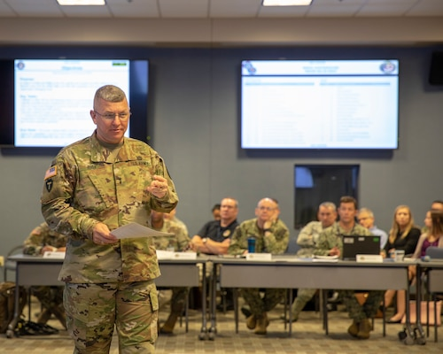 On June 25-26, 2019, Joint Task Force Civil Support (JTF-CS), hosted exercise Vista Proximity II (VP II) at Joint Base Langley-Eustis. VP II is a tabletop exercise created by United States Northern Command (USNORTHCOM) that brings together national, regional and local partners to evaluate the combined large-scale response for a biological incident within the continental US. 