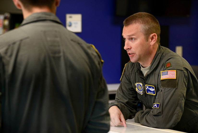 14th Airlift Squadron Aircrew Conducts Integrated Mission Sortie