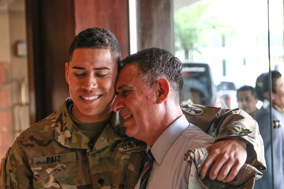Native son- Army Reserve Soldier returns to home in Guatemala as part of Beyond the Horizon 19