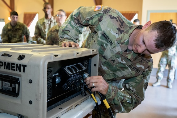 Financial management Soldiers, Airmen begin deployed scenario operations at Fort McCoy