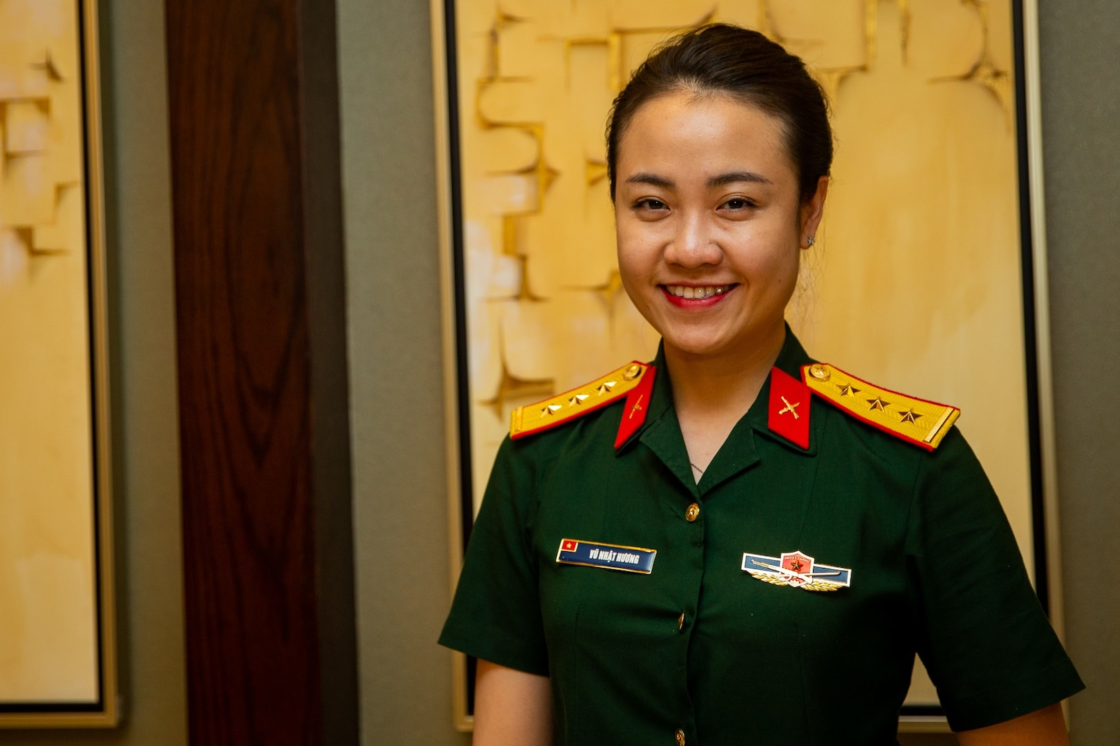Vietnamese People's Army Officer Participates in International Exercise