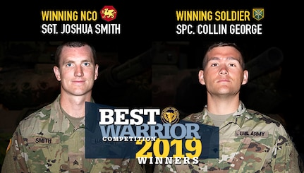 2019 Army Reserve Best Warrior Competition Winners