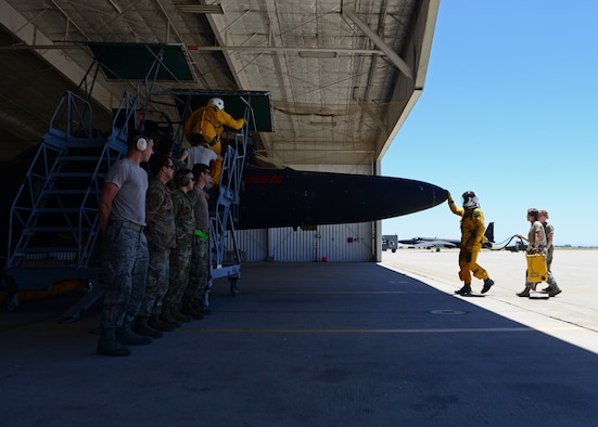 Releasing the Dragon: 9th AMXS maintainers' U-2 launch operations