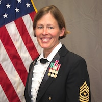 Noncommissioned Officer in Charge, US Army Europe Band and Chorus, Sgt. Maj. Lori A. Nix