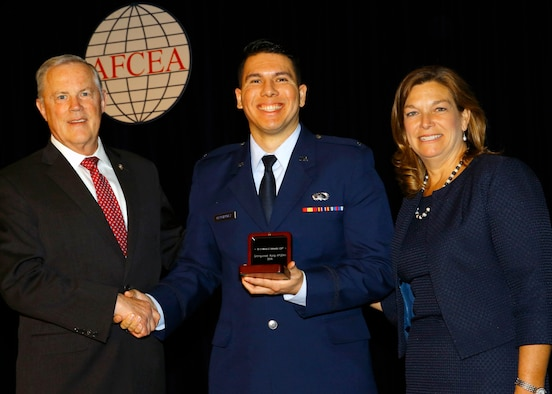 AFLCMC Airmen recognized at AFCEA International Conference